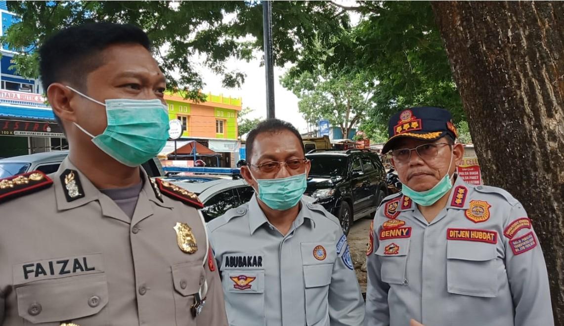 Wujud Cinta PT Jasa Raharja Cabang Sultra  dan BPTD Wilayah XVIII Sultra Ke Pengendara Jalan